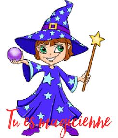 Poster: Tu es magicienne