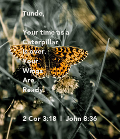 Poster: Tunde,