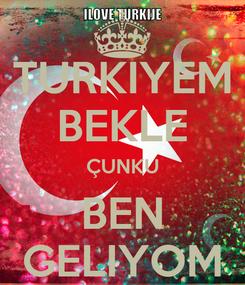 Poster: TURKIYEM BEKLE ÇUNKU BEN GELIYOM