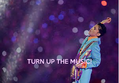 Poster:     TURN UP THE MUSIC!