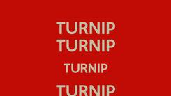 Poster: TURNIP TURNIP TURNIP TURNIP TURNIP