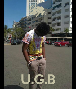 Poster:     U.G.B