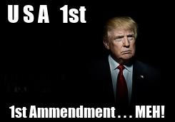Poster: U S A   1st                        1st
