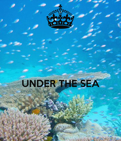 Poster:   UNDER THE SEA