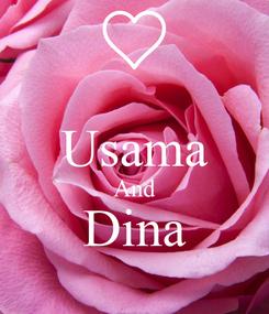 Poster:  Usama And Dina