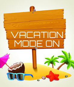 Poster: VACATION MODE ON