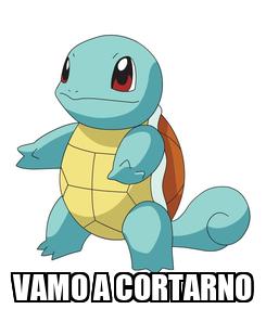 Poster:  VAMO A CORTARNO