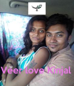 Poster:     Veer love Kinjal