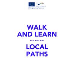 Poster: WALK AND LEARN ~~~~~~ LOCAL PATHS