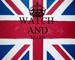 Poster: WATCH  AND LEARN