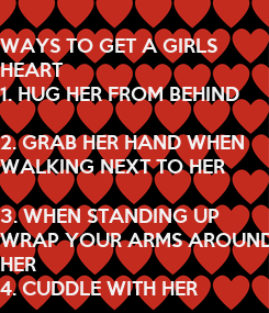 Poster: WAYS TO GET A GIRLS 
