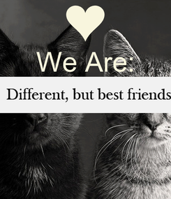 Poster: We Are: