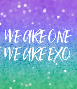 Poster: WE ARE ONE WE ARE EXO