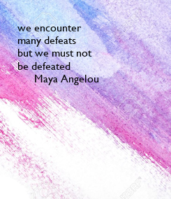Poster: we encounter