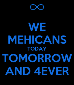 Poster: WE MEHICANS TODAY TOMORROW AND 4EVER