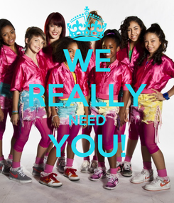 Poster: WE REALLY NEED YOU!