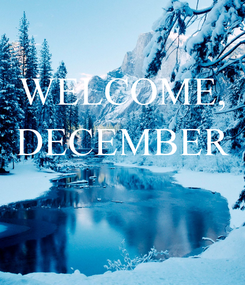 Poster: WELCOME, DECEMBER