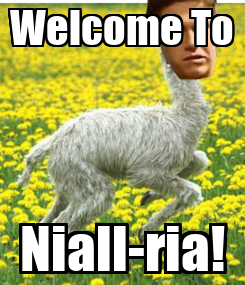 Poster: Welcome To Niall-ria!