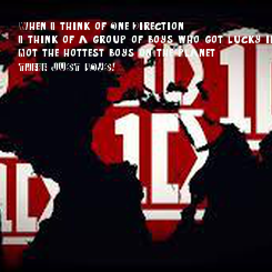 Poster: When I think of One Direction, I think of a group of boys who got lucky in life, Not the hottest boys on the planet, THERE JUST BOYS!