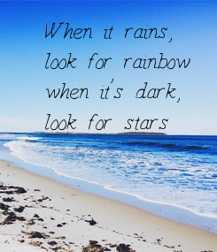 Poster: When it rains,