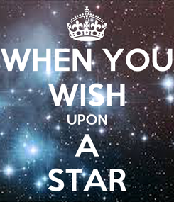 Poster: WHEN YOU WISH UPON A STAR