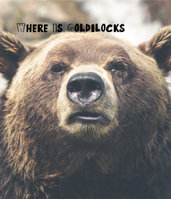 Poster: Where Is Goldilocks