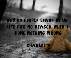 Poster: why do people leave in ur 