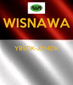 Poster: WISNAWA  YB9DK-JZ14DK