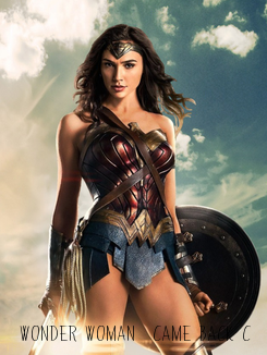 Poster: Wonder Woman  came back c: