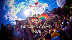 Poster: WORK HARD TO DREAMS COME TRUE