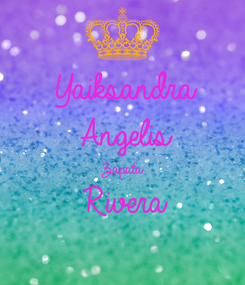 Poster: Yaiksandra Angelis Zapata Rivera