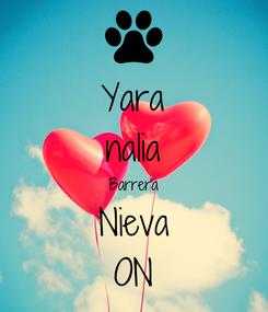 Poster: Yara nalia Barrera Nieva ON