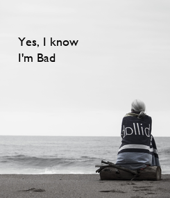 Poster: Yes, I know
