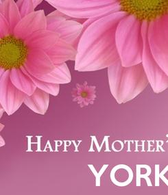 Poster:                YORK