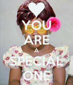 Poster: YOU ARE A SPECIAL ONE