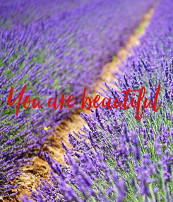 Poster: You are beautiful