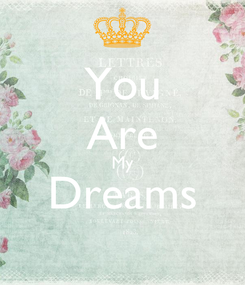 Poster: You Are My Dreams