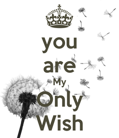 Poster: you are My Only Wish