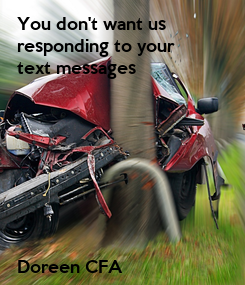 Poster: You don't want us 