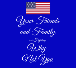 Poster: Your Friends and Family are Fighting  Why  Not You