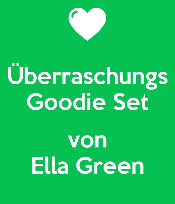 Ãœberraschungs Goodie Set  von Ella Green
