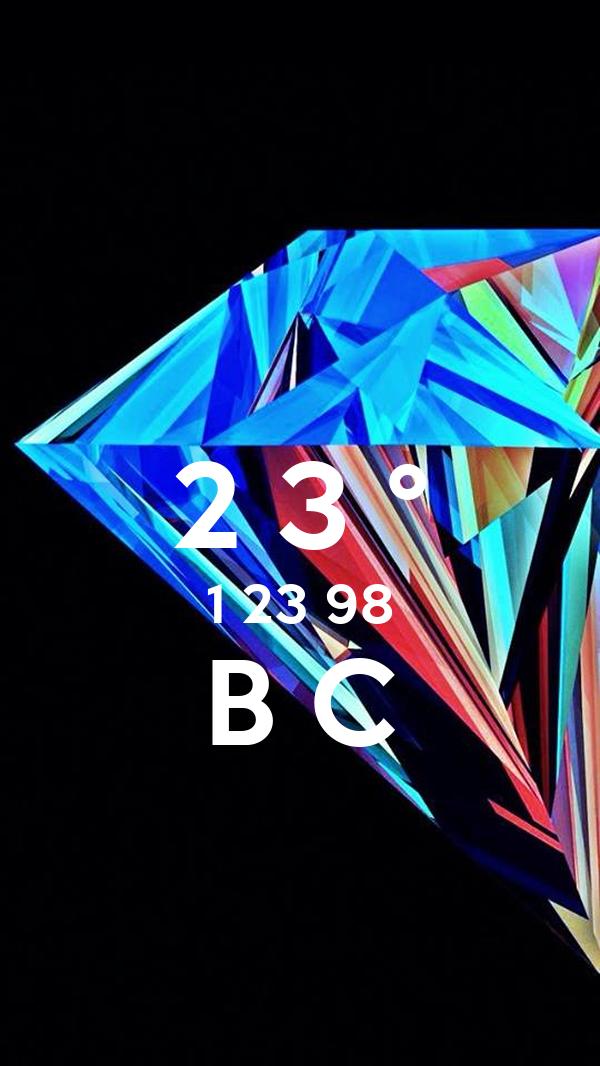 2 3 ° 1 23 98 B C