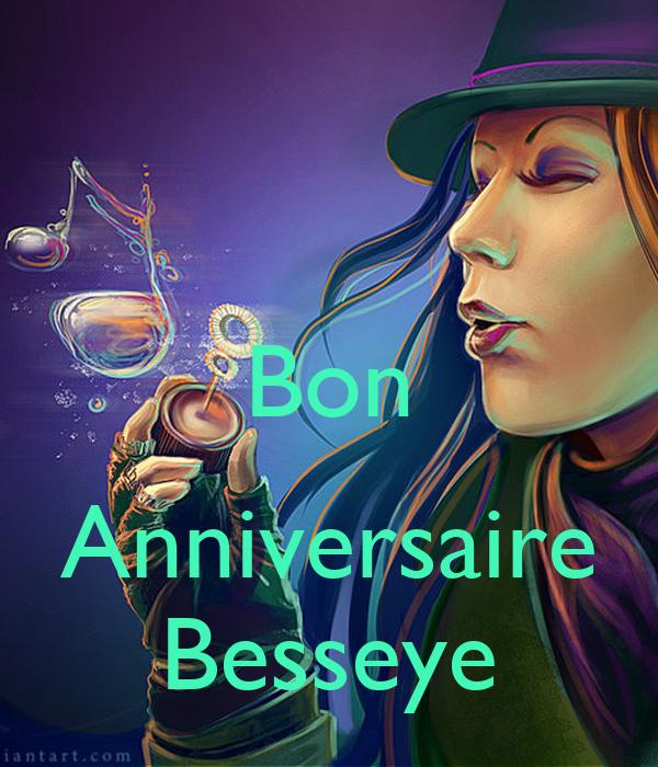Bon  Anniversaire Besseye