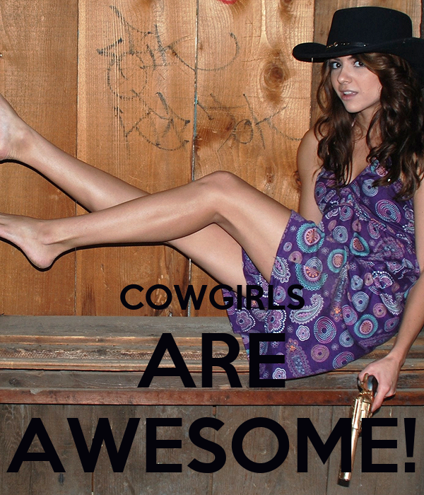 COWGIRLS ARE AWESOME!
