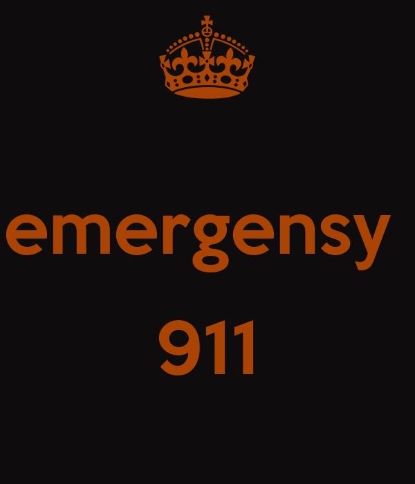 emergensy   911