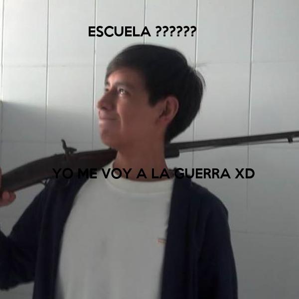 ESCUELA ??????