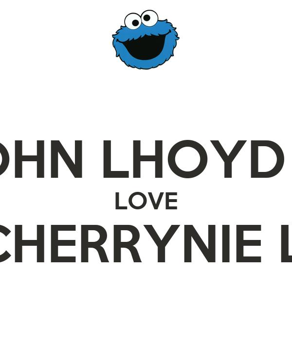 JOHN LHOYD G. LOVE CHERRYNIE L.