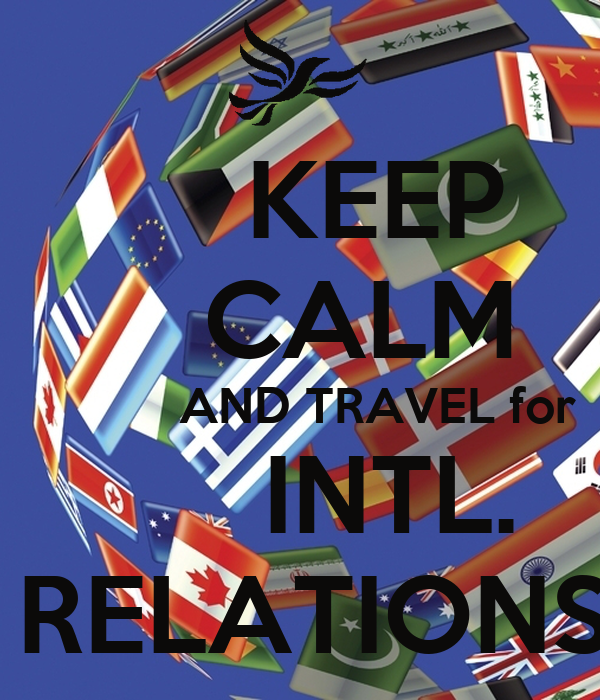 intl relations Game theory provides a great tool for studying international relations countries  must act strategically to stay alive and prosper in the international system.