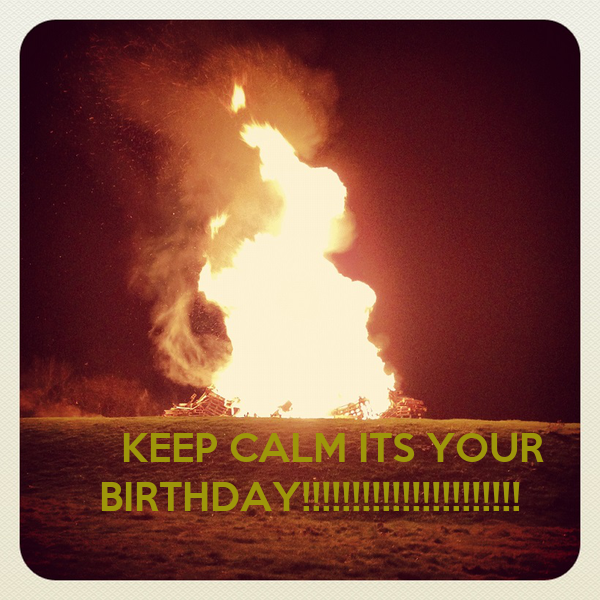 KEEP CALM ITS YOUR 