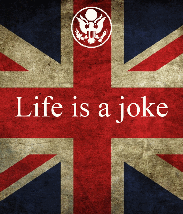 life is a joke poster swaggy keep calm o matic. Black Bedroom Furniture Sets. Home Design Ideas